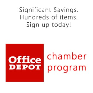 office depot chamber program