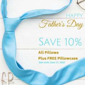 Fine Pillow Fathers Day Sale