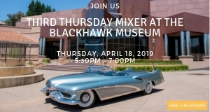 Third Thursday Mixer at the Blackhawk Museum