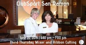Third Thursday Mixer and Ribbon Cutting at ClubSport San Ramon