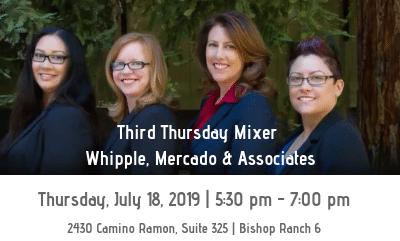 Third Thursday Mixer - Whipple, Mercado & Associates