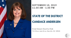 State of the District, with Candace Andersen
