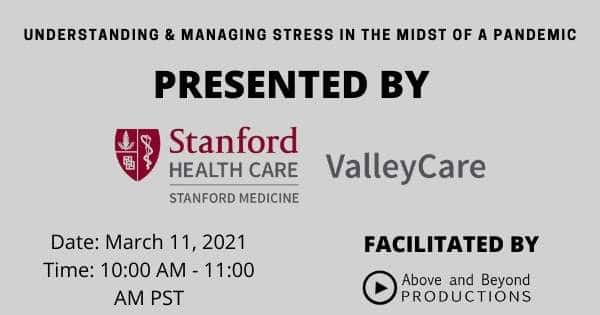 Understanding & Managing Stress in the Midst of a Pandemic